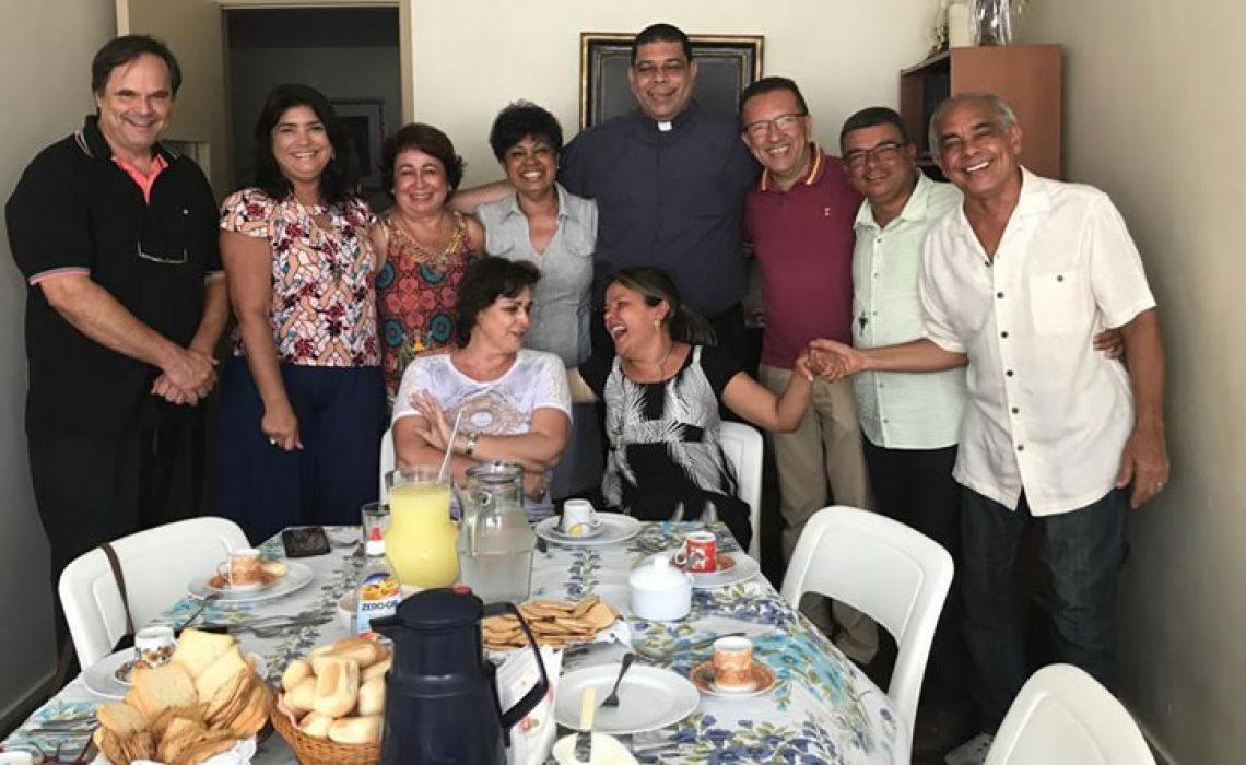 Equipe de Serviço do ENCRISTUS - Rio inicia atividades com encontro Fraterno